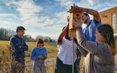 K.E.N. Helps Bluebirds as Part of Environmental Mission