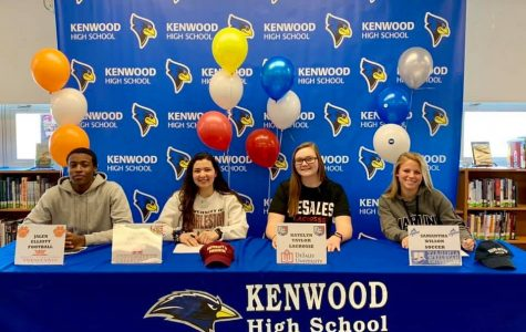 Four Seniors Make College Commitments to Play College Sports