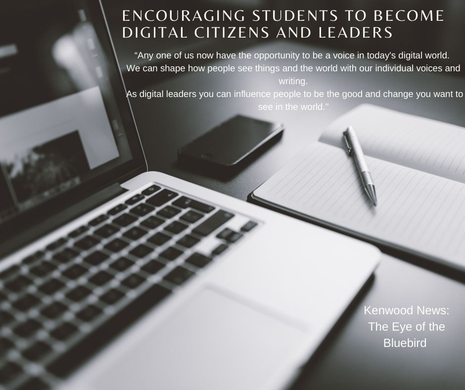 Students are working towards changing digital citizens into digital leaders.