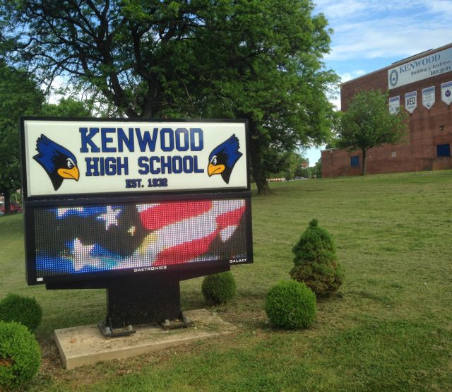 Thankful for the Bluebirds of Kenwood