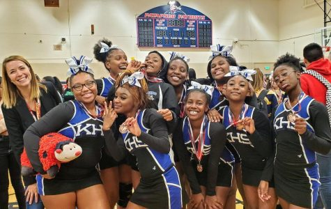 Kenwood High School Varsity Cheerleading Finished 2nd in Baltimore County and 12th in State