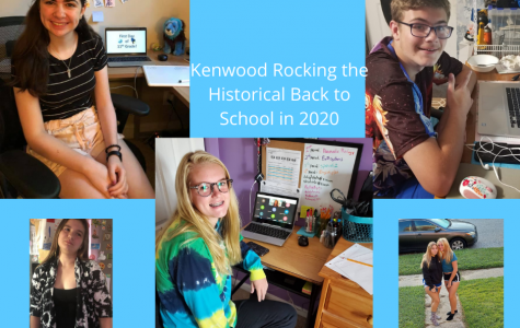 Kenwood students working hard from home to make the best of this historic school year.