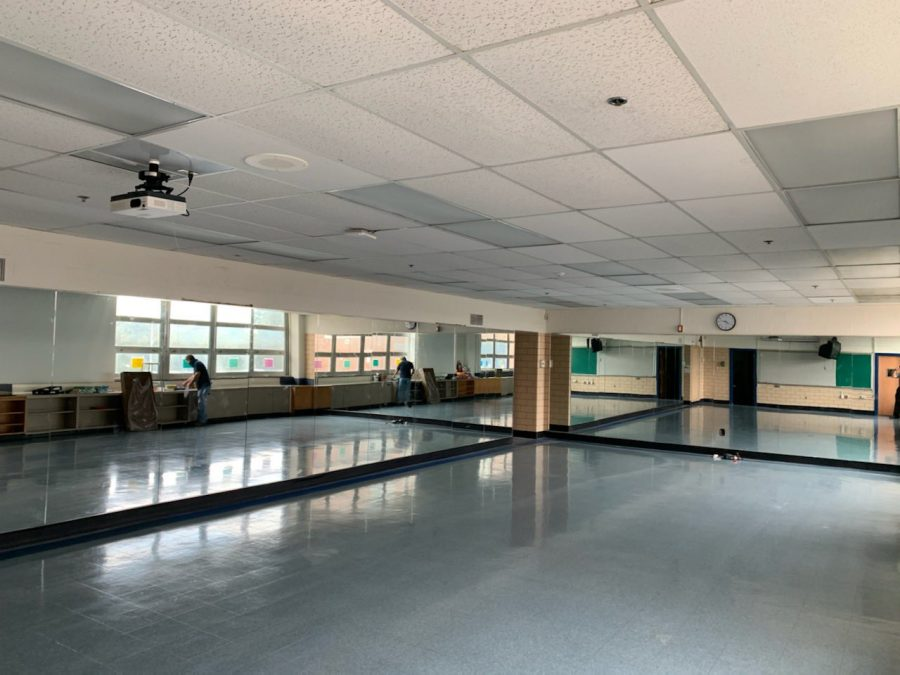 Kenwood's new dance studio