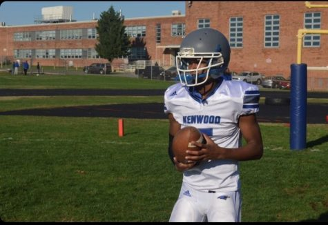 KHS quarterback Jayden Glass ready to get back on the football field.