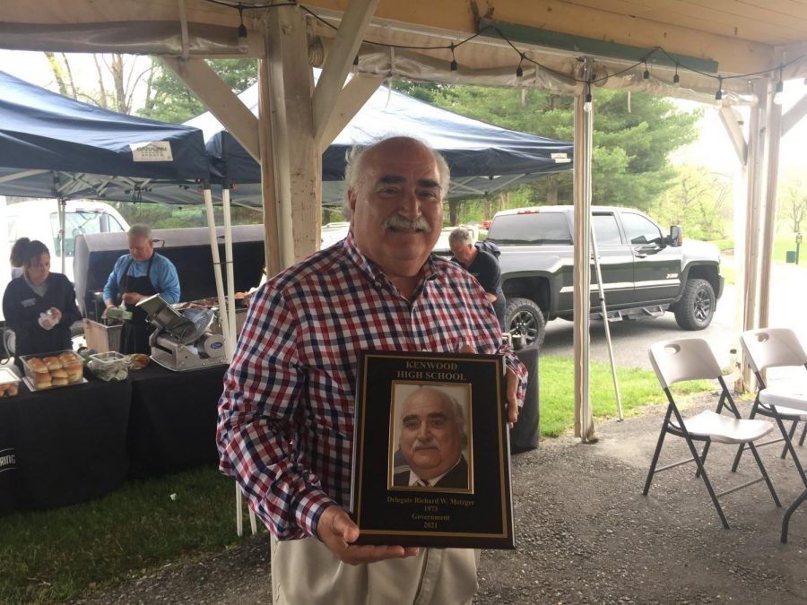 Delegate Ric Metzgar was this year's 2021 Hall of Fame Inductee.