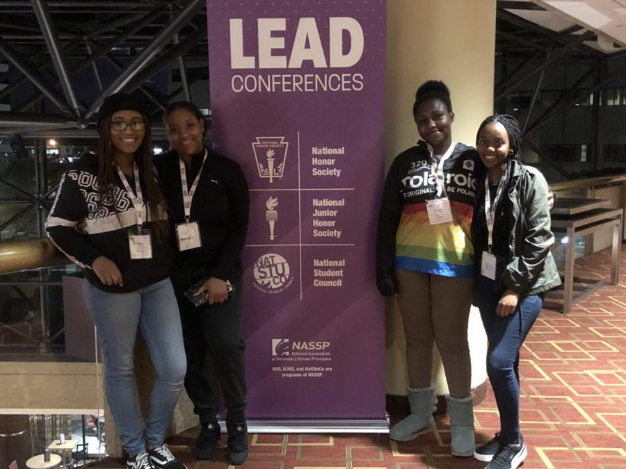 Though+taken+last+year+when+student+leaders+could+attend+conferences+in+person%2C+SGA+members+still+attended+several+leadership+conferences+virtually+this+past+year.+