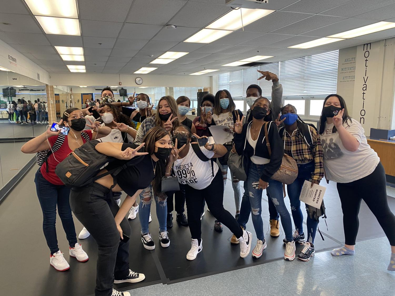 Kenwood dancers looking forward to a year of dancing in the classroom.