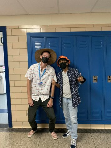 Teachers and students enjoyed showcasing their school spirit with the variety of spirit days.